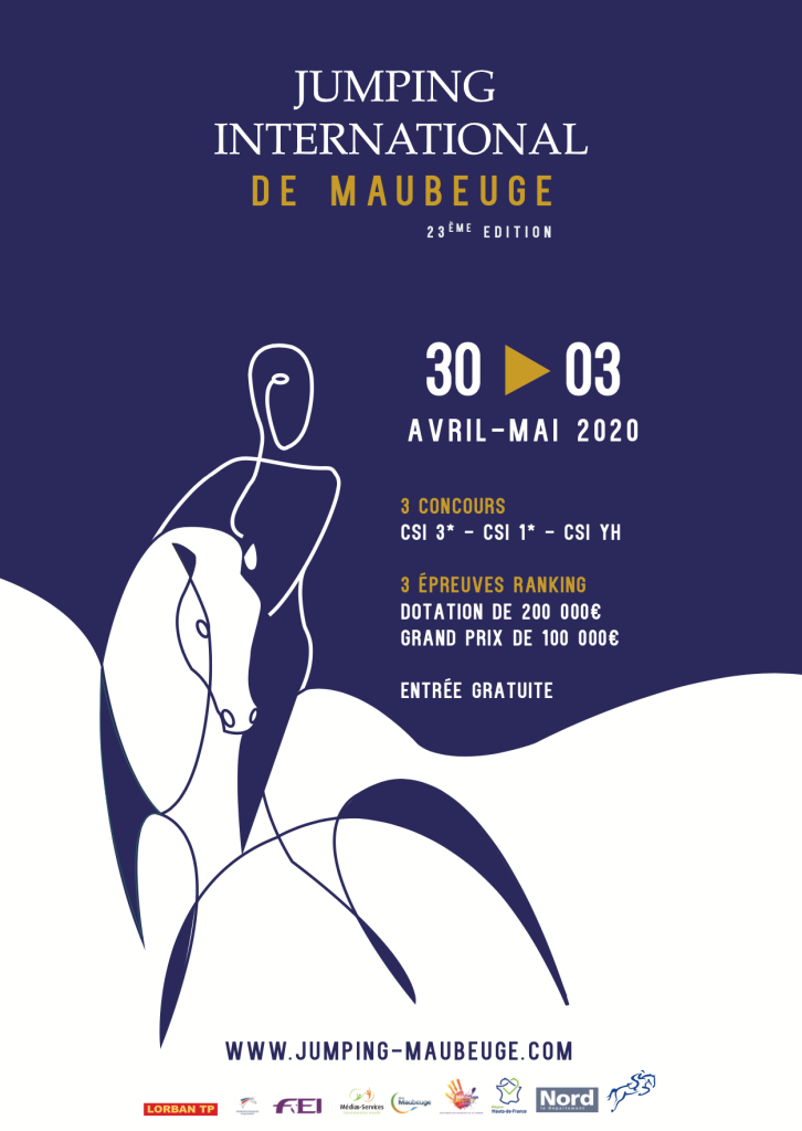 affiche jumping Maubeuge 2019